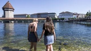 In der Schweiz ist es heisser als auf Ibiza