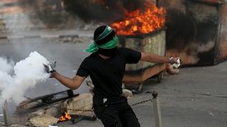 Luftschläge gegen Palästinenser
