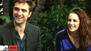 Pattinson und Stewart: Sie lächeln über die Vergangenheit hinweg