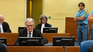 Karadzic' Verzögerungstaktik