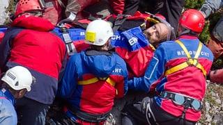 Verletzter Höhlenforscher ist wieder an der Oberfläche
