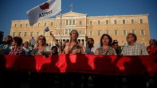 Griechische Linke ist gespalten
