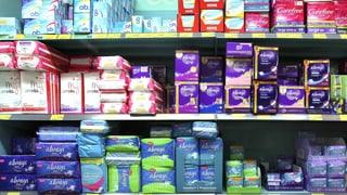 Tiefere Mehrwertsteuer auf Binden und Tampons