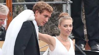 Monaco-Spross Pierre Casiraghi heiratet am Lago Maggiore