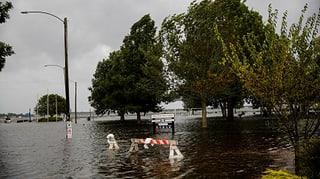 Lebensgefährliche Sturmfluten und extremer Regen