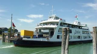 Autotransport auf den Bodenseefähren vorübergehend eingestellt