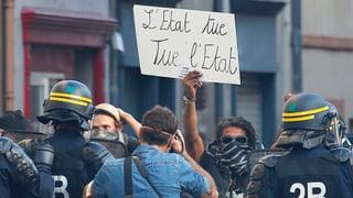 Demonstrant in Frankreich starb durch Polizeigranate