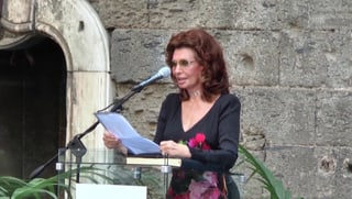 Sophia Loren wird Ehrenbürgerin von Napoli