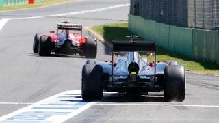 Emprim trenament senza team Sauber