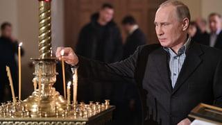 Putin würdigt Beitrag der orthodoxen Kirche für den Frieden