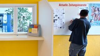 Jung und arbeitslos in der Schweiz – «Vitamin B» hilft weiter