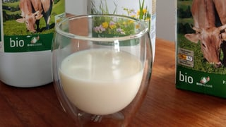 Je natürlicher die Milch, desto schlechter der Schaum  (Artikel enthält Audio)
