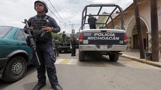 Mexikanische Politiker leben gefährlich