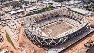 Erneut ein Toter bei Unfall in einem WM-Stadion in Brasilien