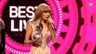 MTV Europe Music Awards: Swift und Bieber räumen ab