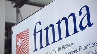 Finma erhöht Druck auf Banken