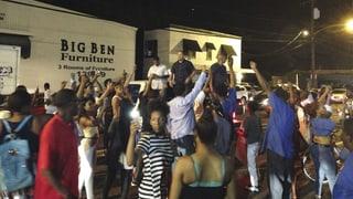 Protests suenter sajettim a Lousianna