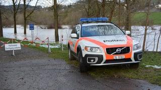 Feuerwehreinsätze wegen Unwetter in der Ostschweiz