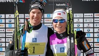 Dario Cologna e Mari Eide gudognan il Maraton da skis engiadinais