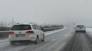 Über 50 Unfälle wegen Glatteis im Kanton Aargau