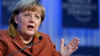 Angela Merkel: «Riesige Lücke» bei Regulierung der Finanzmärkte