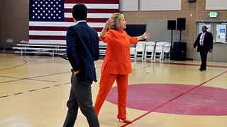 Wer nimmt es mit Hillary Clinton auf?