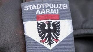 Aarauer Stadtpolizist wegen häuslicher Gewalt verhaftet