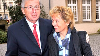 Widmer-Schlumpf in Luxemburg: Zwei Kleinstaaten reden sich Mut zu