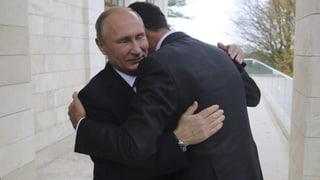 Putin sieht Ende des militärischen Einsatzes in Syrien