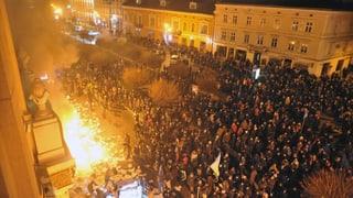 Der Führung entgleitet Kontrolle über den Westen der Ukraine