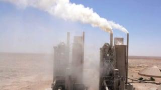 C02 könnte für Zementindustrie zur Belastung werden