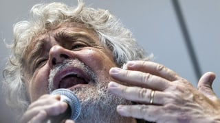 Nichts zu lachen für Beppe Grillo