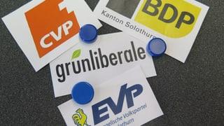 Solothurner Mitteparteien spannen im Wahlherbst zusammen