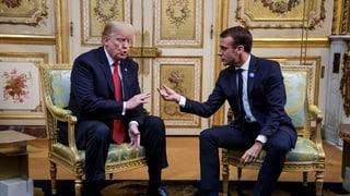 Trump poltert gegen Macron