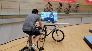 Velo-Training vor dem Bildschirm