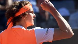 Zverev lässt die Muskeln spielen – Djokovic holt Agassi