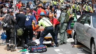 Im August diesen Jahres kam es in Charlottesville im US-Bundesstaat Virginia zu Zusammenstössen zwischen Rechtsextremen und Gegendemonstranten. Ein Überblick der Ereignisse.