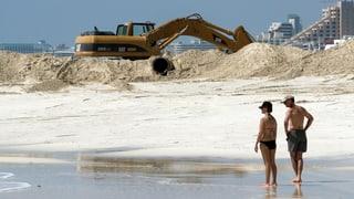 «Sie haben den Strand einfach aufgeladen und mitgenommen»