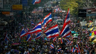 Thailands Opposition läuft sich warm für den 13. Januar