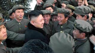 Kim Jong Un feiert seinen Raketentest