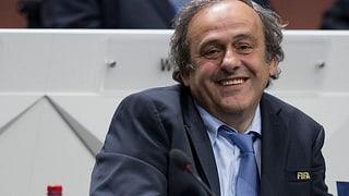 Michel Platini will Blatters Nachfolger werden