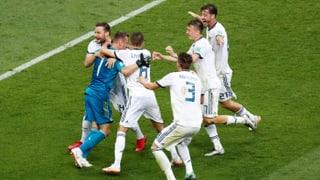 Russland schaltet sensationell Spanien aus