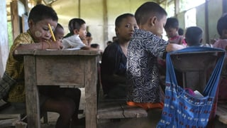420 milliuns uffants creschan si en regiuns da conflict
