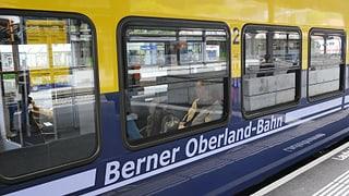 Bei Lauterbrunnen wurde ein Zug auseinandergerissen