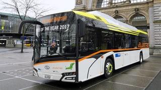 Zug und Luzern testen Batteriebus