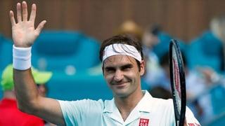 Federer spielt sich in einen Rausch