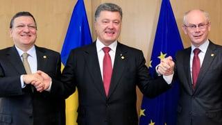 Ukraine-EU: «Russland hat andere Sorgen»