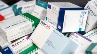 Medicaments èn memia chars en Svizra
