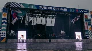 «Es ist ein riesiges Desaster, aber es passt zum Zürich Openair!»