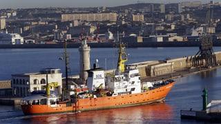 Italien will die «Aquarius» beschlagnahmen